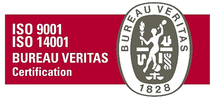 ISO 9001 ISO 14001 BUREAU VERITAS Certification